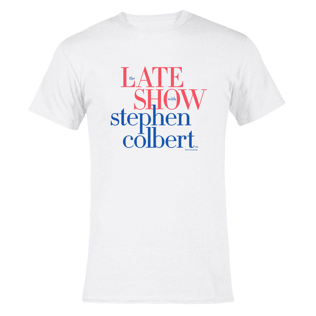 The Late Show with Stephen Colbert Men's Short Sleeve T-Shirt | Official CBS Entertainment Store