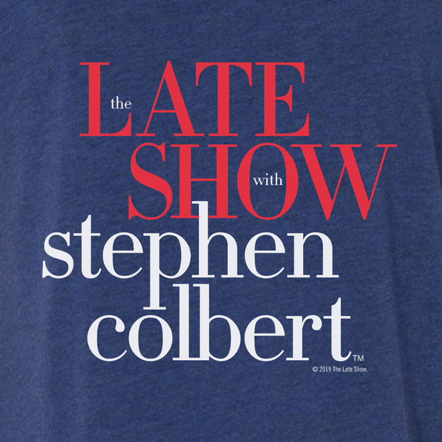 The Late Show with Stephen Colbert Women's Relaxed V-Neck T-Shirt