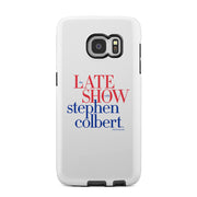The Late Show with Stephen Colbert Tough Phone Case | Official CBS Entertainment Store
