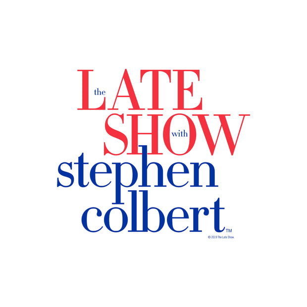 The Late Show with Stephen Colbert Throw Pillow | Official CBS Entertainment Store