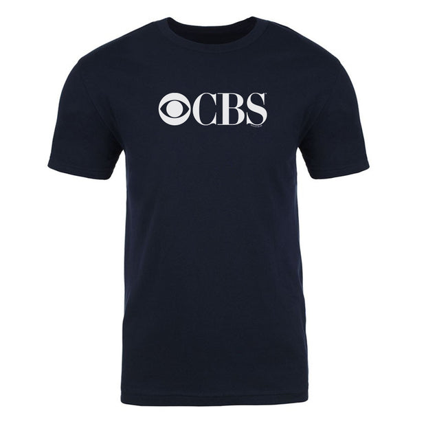 CBS Vintage Logo Adult Short Sleeve T-Shirt