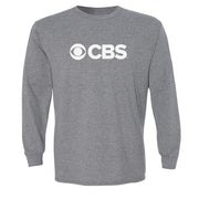 CBS Current Logo Adult Long Sleeve T-Shirt