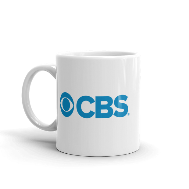 CBS Current Logo White Mug