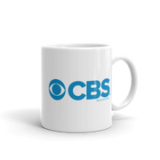 CBS Current Logo White Mug | Official CBS Entertainment Store