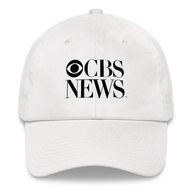 CBS News Vintage Logo Embroidered Hat | Official CBS Entertainment Store