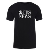 CBS News Vintage Logo Adult Short Sleeve T-Shirt