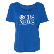CBS News Vintage Logo Women's Relaxed T-Shirt