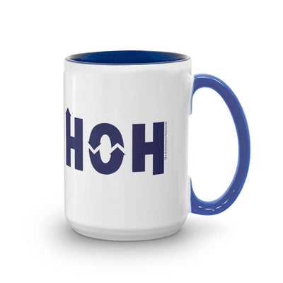 Big Brother Personalized HOH 15 oz Two-Tone Mug
