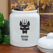 SEAL Team Team Bravo Treat Jar