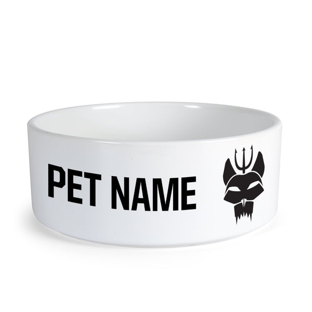 SEAL Team Team Bravo Personalized Pet Bowl | Official CBS Entertainment Store