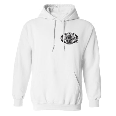 Survivor 40th Season Anniversary Logo Fleece Hooded Sweatshirt