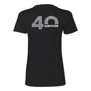 Survivor 40th Season Anniversary Logo Women's Short Sleeve T-Shirt | Official CBS Entertainment Store