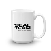 SEAL Team Bravo American Flag White Mug | Official CBS Entertainment Store