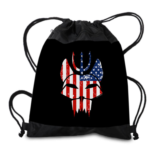 SEAL Team Bravo American Flag Drawstring Bag | Official CBS Entertainment Store