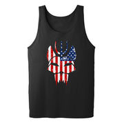SEAL Team Bravo American Flag Adult Tank Top