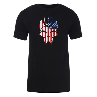 SEAL Team Bravo American Flag Adult Short Sleeve T-Shirt