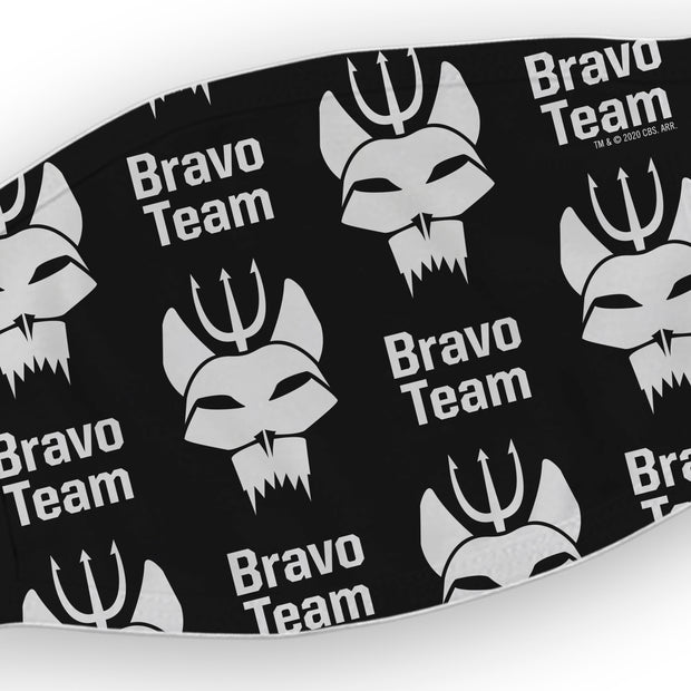 SEAL Team Bravo Team Washable Face Mask | Official CBS Entertainment Store
