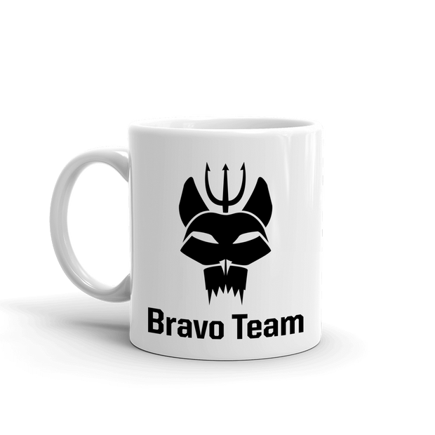 SEAL Team Bravo Team White Mug