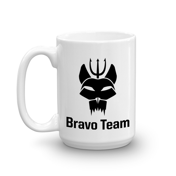 SEAL Team Bravo Team White Mug | Official CBS Entertainment Store