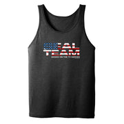 SEAL Team American Flag Logo Adult Tank Top | Official CBS Entertainment Store