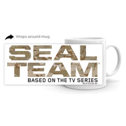 SEAL Team Camouflage Logo White Mug | Official CBS Entertainment Store