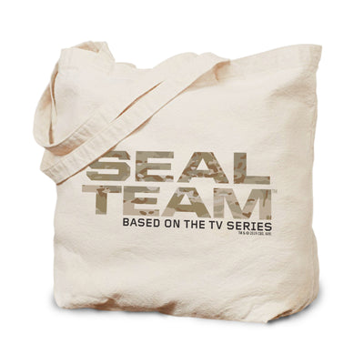 SEAL Team Camouflage Canvas Tote | Official CBS Entertainment Store