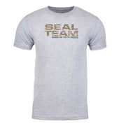SEAL Team Camouflage Logo Adult Short Sleeve T-Shirt | Official CBS Entertainment Store