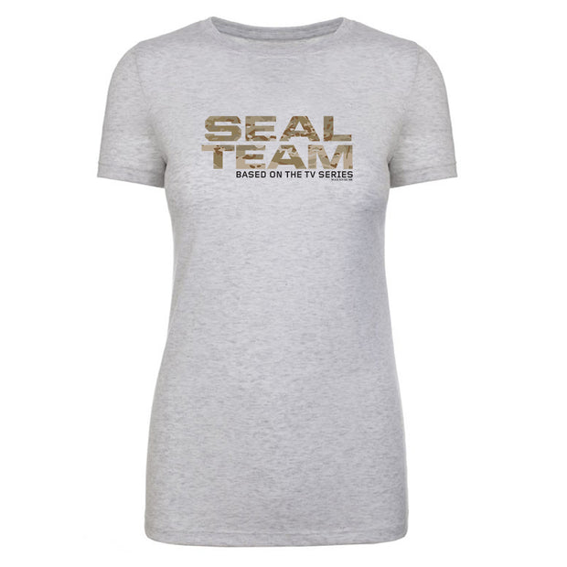 SEAL Team Camouflage Logo Women's Tri-Blend T-Shirt | Official CBS Entertainment Store