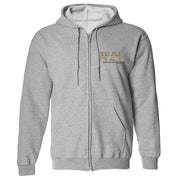 SEAL Team Camoflauge Logo Fleece Zip-Up Hooded Sweatshirt | Official CBS Entertainment Store
