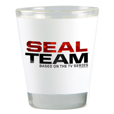 SEAL Team Stacked Logo Shot Glass | Official CBS Entertainment Store