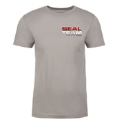 SEAL Team Stacked Logo Chest Adult Short Sleeve T-Shirt | Official CBS Entertainment Store