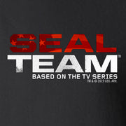 SEAL Team Stacked Logo Fleece Zip-Up Hooded Sweatshirt