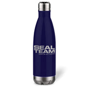 SEAL Team Logo 17 oz Stainless Steel Slim Water Bottle | Official CBS Entertainment Store