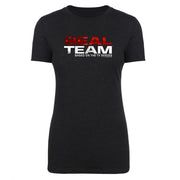SEAL Team Stacked Logo Women's Tri-Blend T-Shirt
