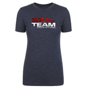 SEAL Team Stacked Logo Women's Tri-Blend T-Shirt | Official CBS Entertainment Store