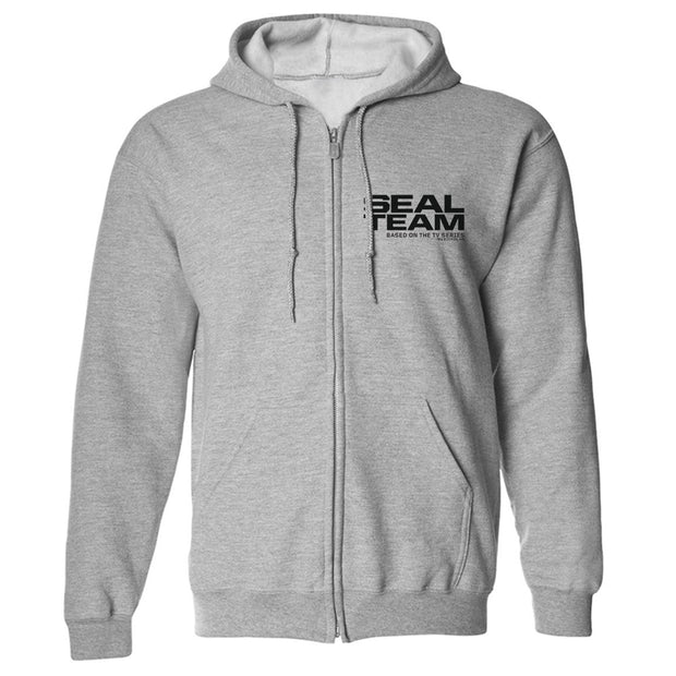 SEAL Team Logo Fleece Zip-Up Hooded Sweatshirt | Official CBS Entertainment Store