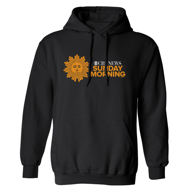 CBS News Sunday Morning Fleece Hooded Sweatshirt