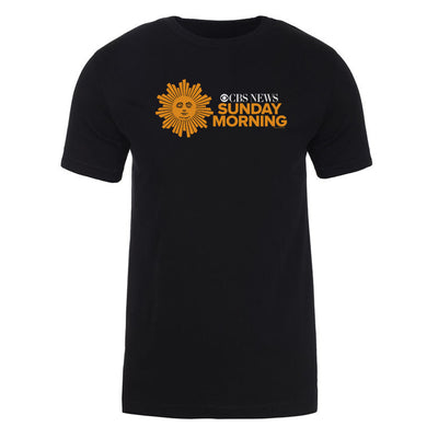 CBS News Sunday Morning Adult Short Sleeve T-Shirt