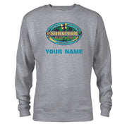 Survivor Season 39 Island of the Idols Logo Personalized Fleece Crewneck Sweatshirt