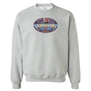 Survivor Season 40 Winners at War Logo Fleece Crewneck Sweatshirt | Official CBS Entertainment Store