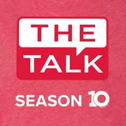 The Talk Season 10 Anniversary Logo Women's Tri-Blend Dolman T-Shirt