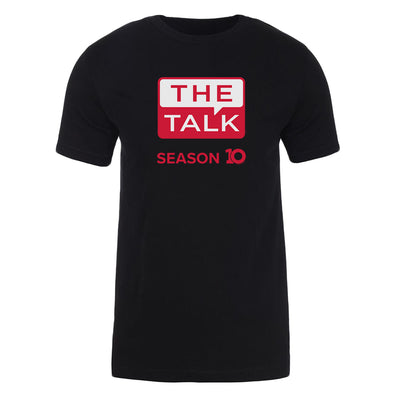 The Talk Season 10 Anniversary Logo Adult Short Sleeve T-Shirt