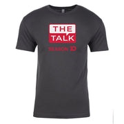 The Talk Season 10 Anniversary Logo Adult Short Sleeve T-Shirt | Official CBS Entertainment Store