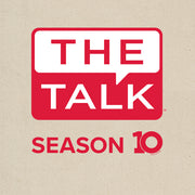 The Talk Season 10 Anniversary Logo Canvas Tote | Official CBS Entertainment Store