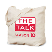 The Talk Season 10 Anniversary Logo Canvas Tote
