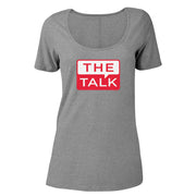 The Talk Logo Women's Relaxed Scoop Neck T-Shirt | Official CBS Entertainment Store