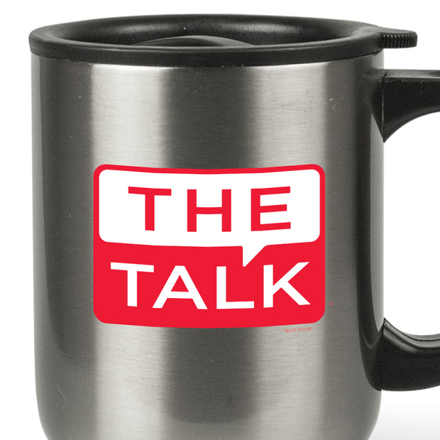 The Talk Logo Stainless Steel Travel Mug | Official CBS Entertainment Store