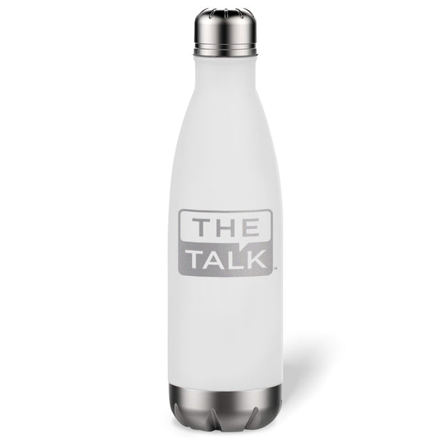 The Talk Logo 17 oz Stainless Steel Slim Water Bottle | Official CBS Entertainment Store