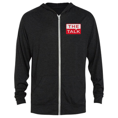 The Talk Logo Tri-Blend Zip-Up Hooded Sweatshirt | Official CBS Entertainment Store