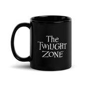 The Twilight Zone Logo Black Mug | Official CBS Entertainment Store